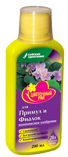 ЖКУ для фиалок Цветочный рай 400мл БХЗ
