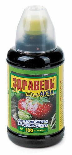 ЖКУ для ягодных культур 0,5л Здравень ВХ (12шт)