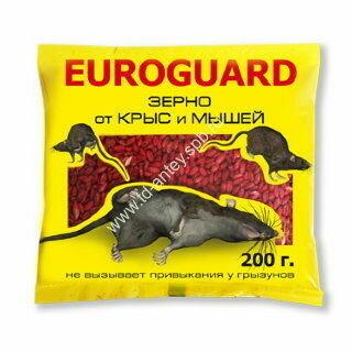 Зерно Еврогард от крыс и мышей 200г (50шт) (И0003-576) Дефанс