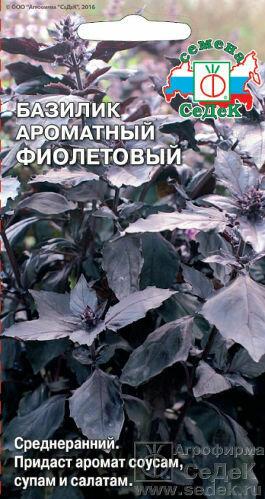 Базилик Фиолетовый (СД)