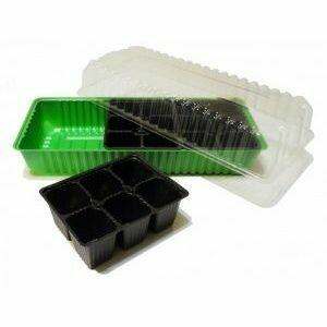 Микропарник + 3 кассеты на 6яч. зеленый (30шт) (mirsad)