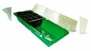 Микропарник + 2 кассеты на 6 яч. зеленый (32шт) (mirsad)