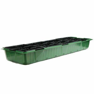 Микропарник + 4 кассеты на 6 яч. зеленый (20шт) (mirsad)