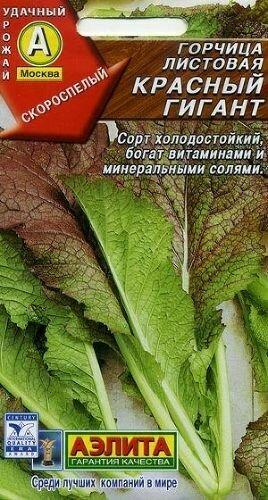 Горчица Красный гигант салатная 0,5гр  Аэ Ц