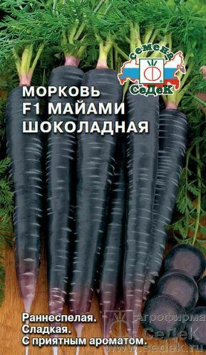 Морковь Майами Шоколадная (СД)