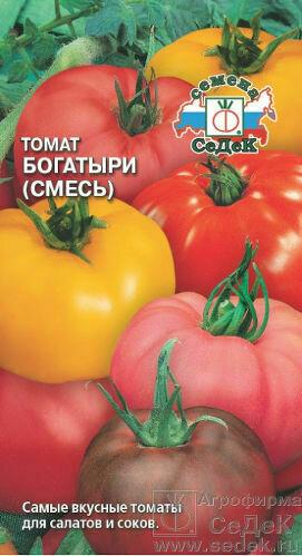 Томат Богатыри (смесь самых крупноп томатов для салата) (СД)