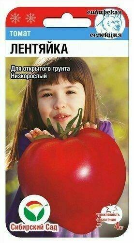 Томат Лентяйка (СибСад)