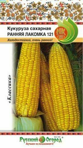 Кукуруза Ранняя лакомка 121 сахарная (НК)