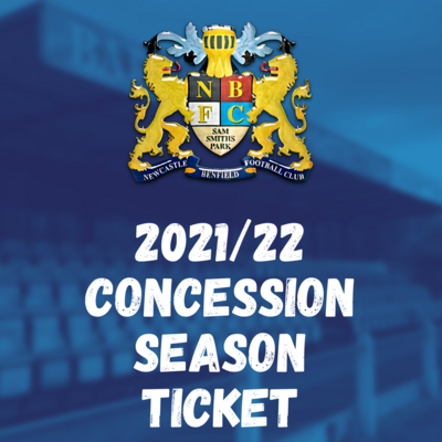 2021/22 CONCESSION SEASON TICKET