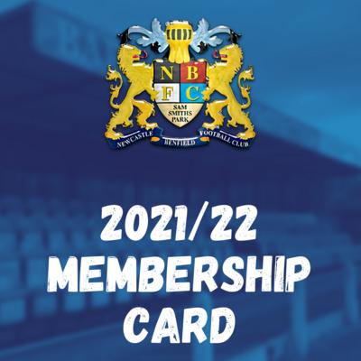 2021/22 MEMBERSHIP CARD
