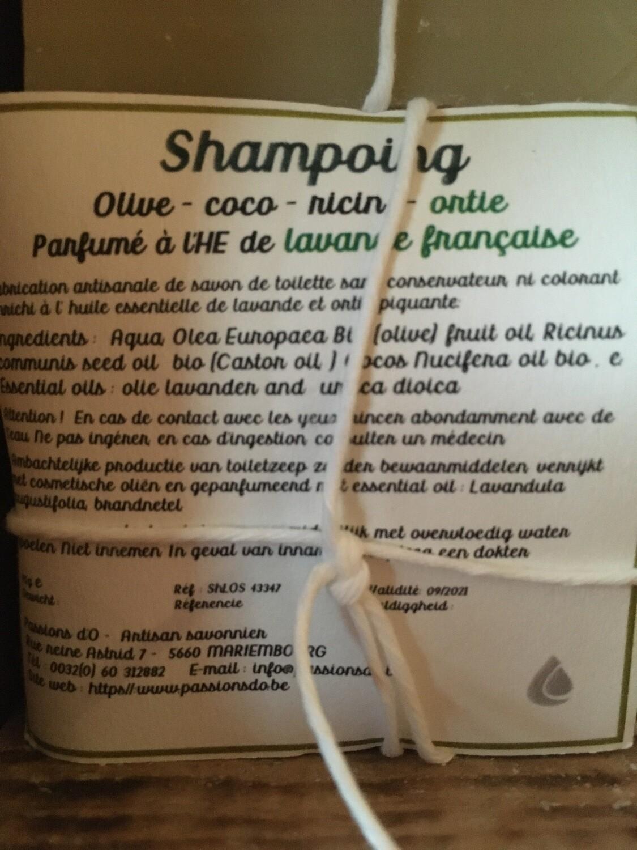 Shampoing solide parfumé lavande française
