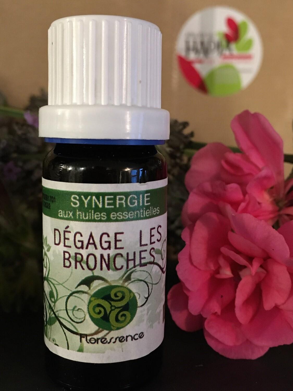 Synergie huiles essentielles Dégage les bronches