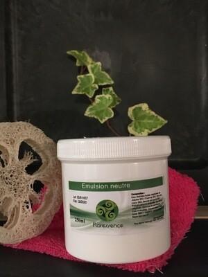 Emulsion neutre pour crème de soins