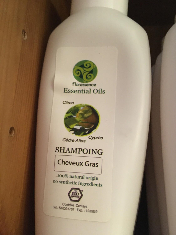Shampoing 100% naturel cheveux gras