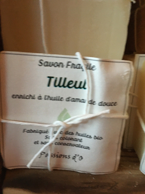 Savon solide parfumé Tilleul
