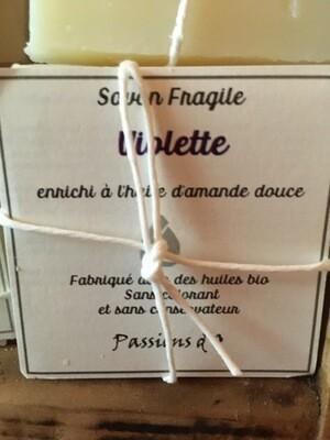 Savon solide parfumé Violette