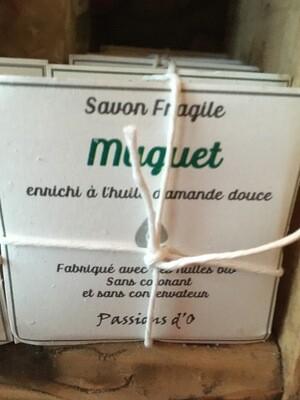 Savon solide parfumé muguet