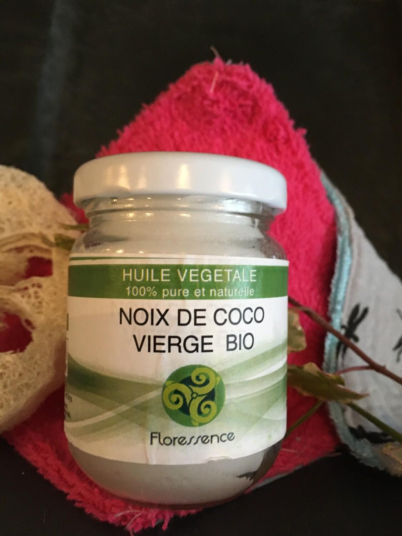Huile végétale de noix de coco vierge bio