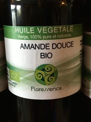 Huile végétale d'Amande douce bio