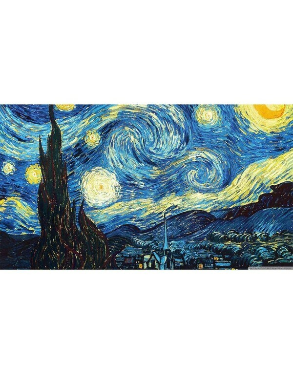 Starry Nights - Vincent van Gogh Poster