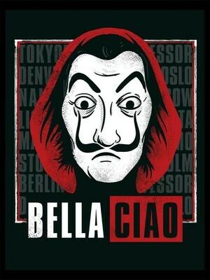 Money Heist - Bella Chao Vinyl Art