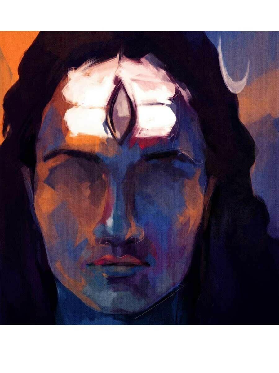 Shiva Art Poster