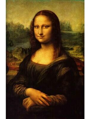 Monalisa - Leo-da-Vinci Poster