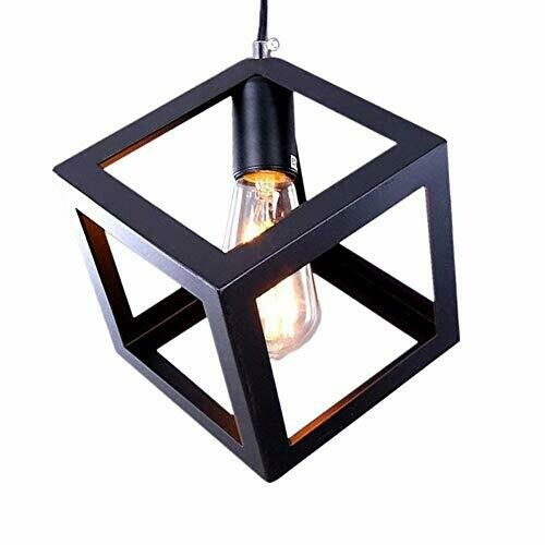 Cube Hanging Pendant Light