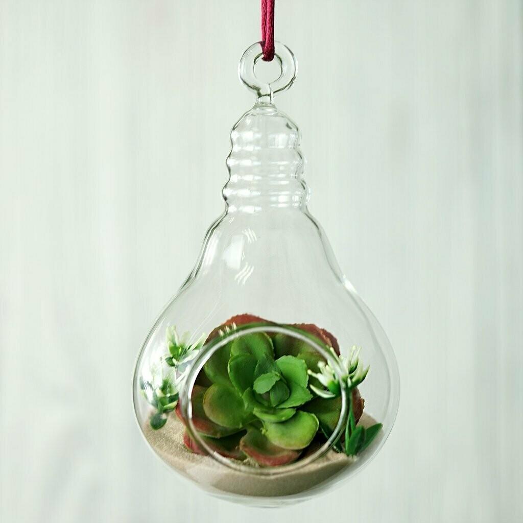 Bulb Shape Planter (Without Plant)