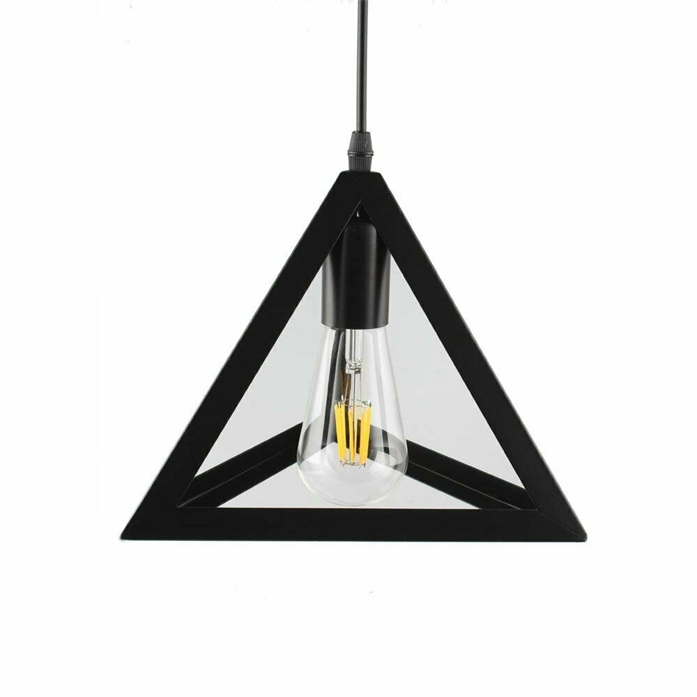 Triangle Hanging Pendant Light