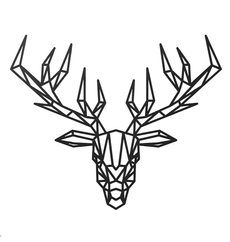 Wall Art Reindeer Design