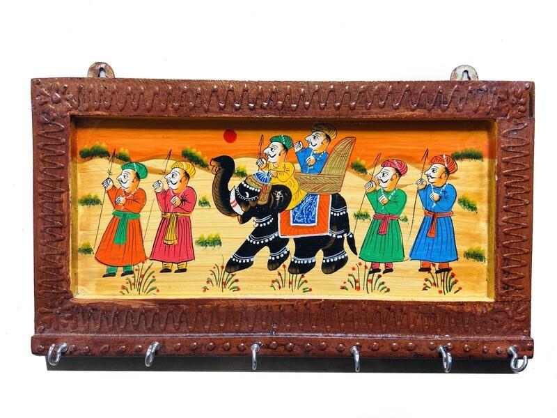 Rajasthani Print Key Holders