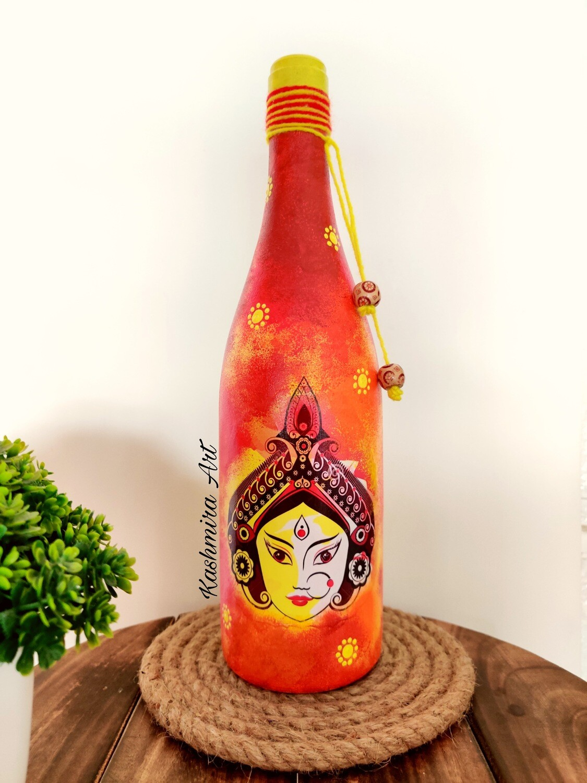 Durga Decorative Bottle
