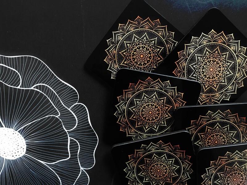 Mandala Design Coaster