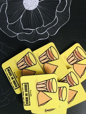 Chai Coasters