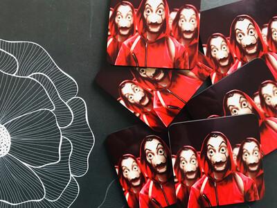 Bella Ciao Dali Coasters