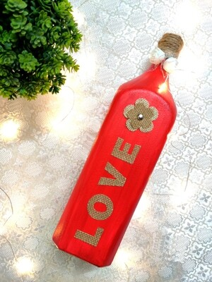Red Love Bottle