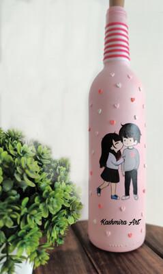 Love Couple Bottle Lamp