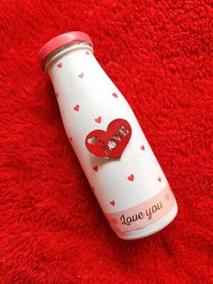 Small Love Bottle Lamp
