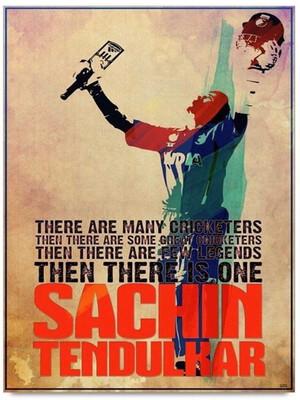 Sachin Tendulkar Art Print