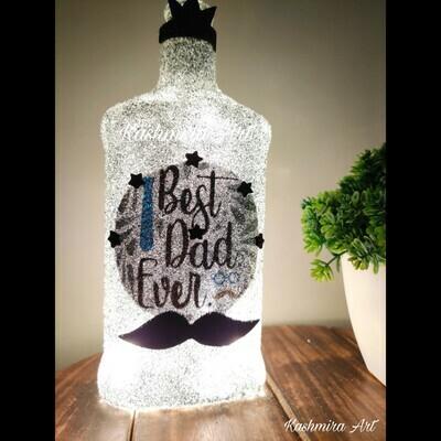 Best Dad Magic Bottle Lamp