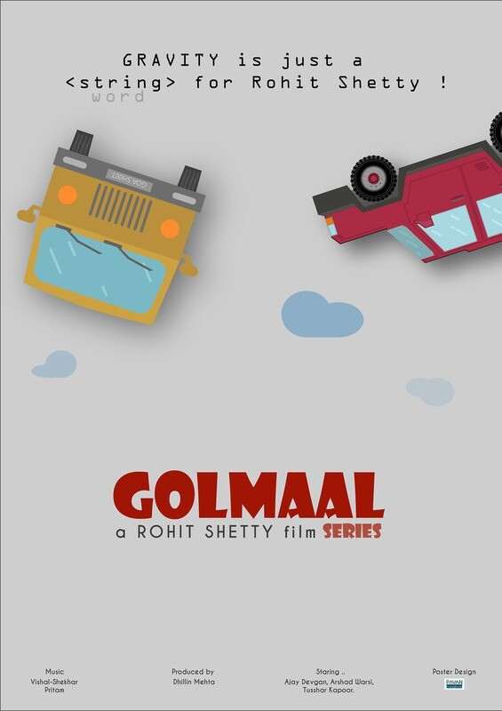 Golmaal 4 - Fun Unlimited Wallpaper Art