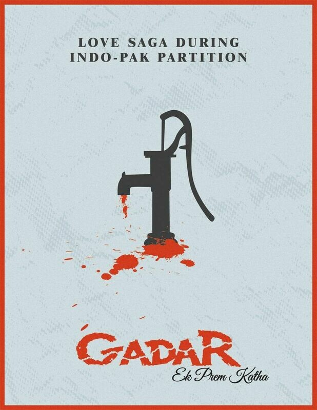 Gadar Ek Prem Katha Wallpaper Art