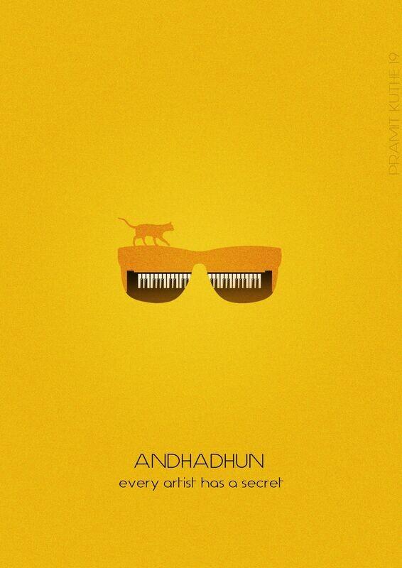 Andhadhun Wallpaper Art