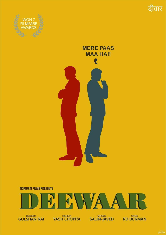 Deewar Movie Wallpaper Art
