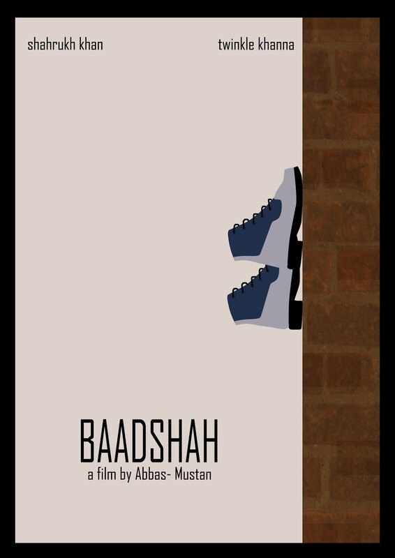Baadshah Movie Wallpaper Art