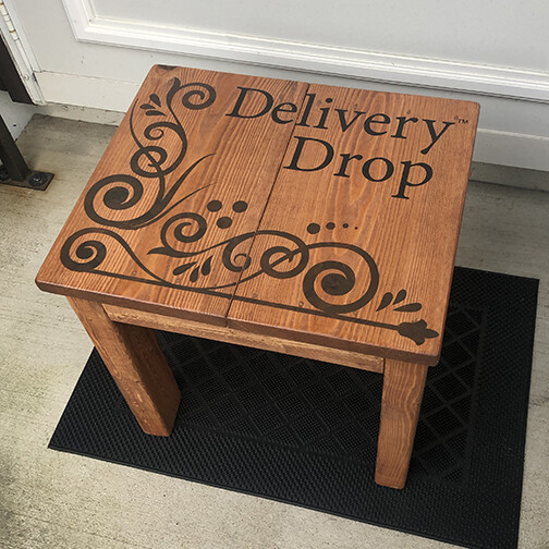Medium Brown Stain  Delivery Drop™ - Premade