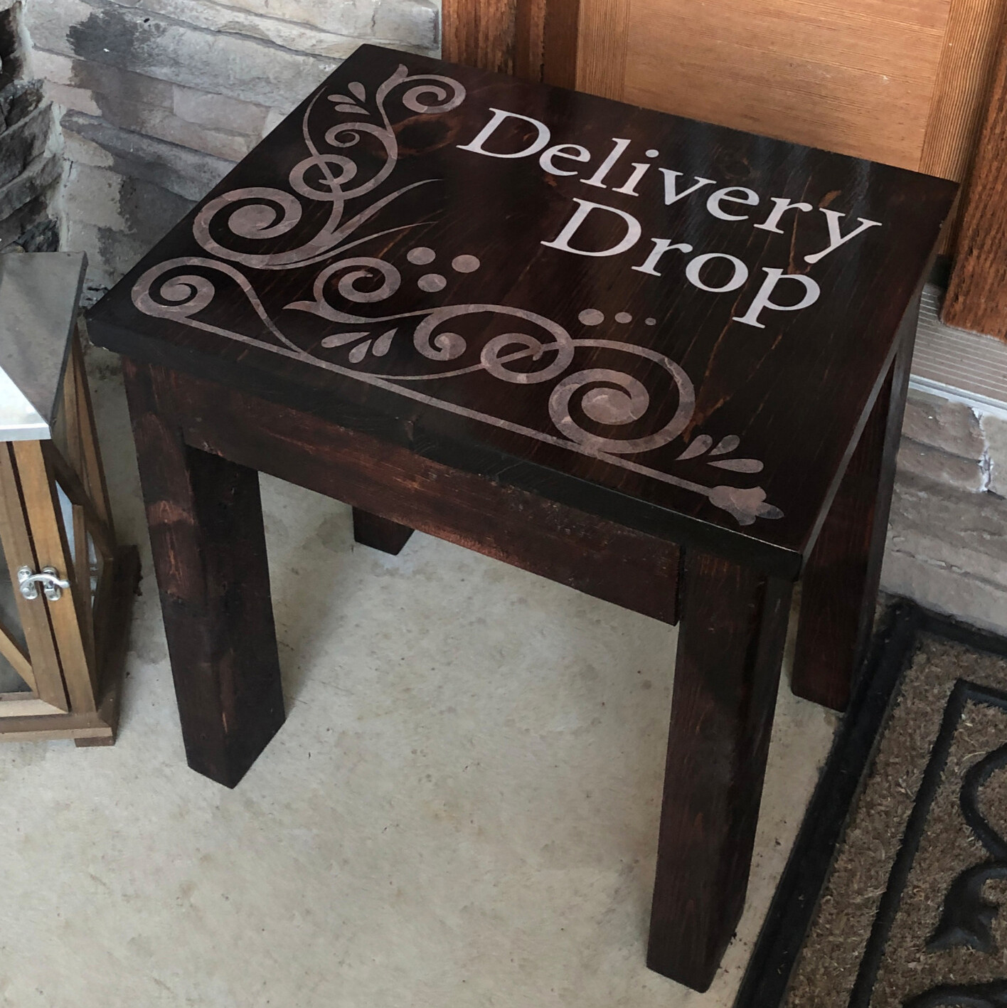 Dark Brown Stain  Delivery Drop™ - Premade