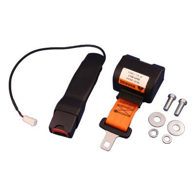 Cinturón de seguridad de alta visibilidad equipado con microrruptor