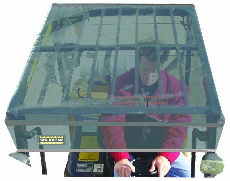 Protector solar y de lluvia para tejadillo operador